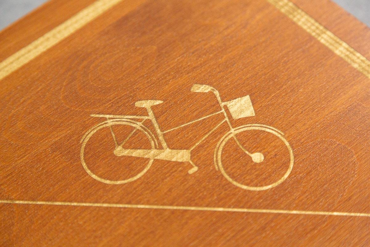 logo enseigne gravee signaletique bois magasin bureau 1