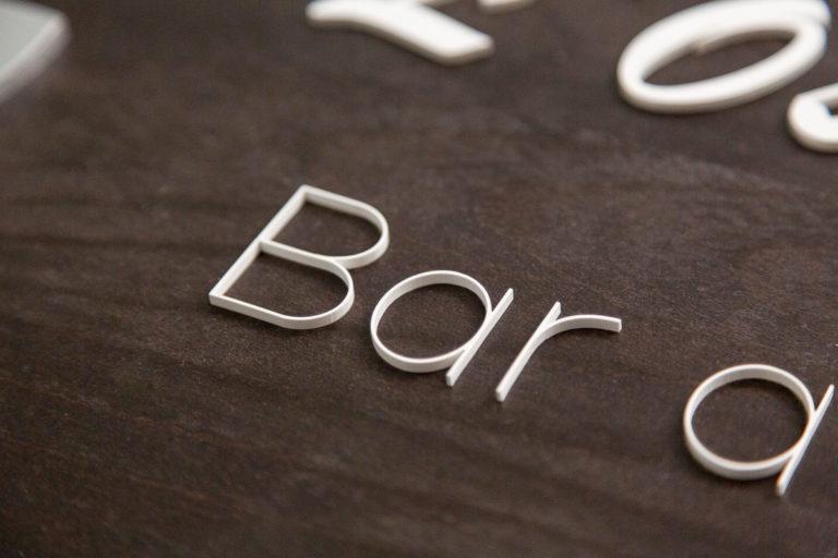 logo signaletique enseigne bois 3d magasin bureau restaurant 11