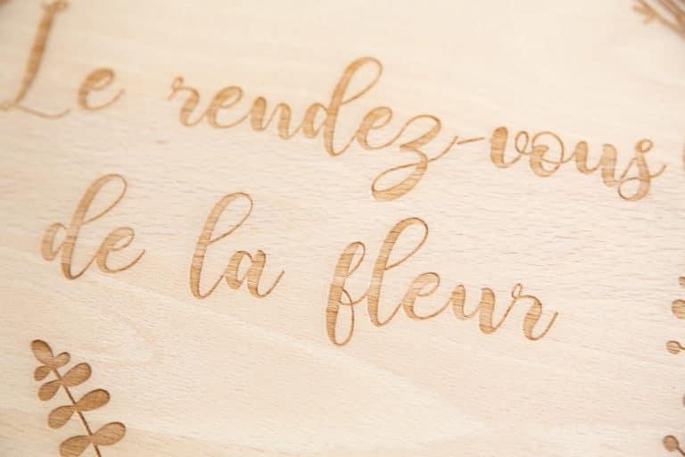 logo signaletique enseigne bois 3d magasin bureau restaurant 23